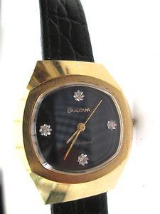 【送料無料】1977 n7  bulova imperial watch, rare,,hand winding