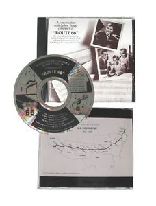 route 66 commemorative limited edition watch includes bobby troup interview cd