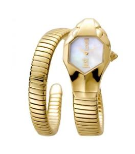 【送料無料】*mistery gift* orologio donna just cavalli glam chic jc1l001m0025 acciaio gold s