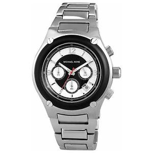 【送料無料】michael kors mens gents chronograph stainless steel watch mk8101 rrp 25900