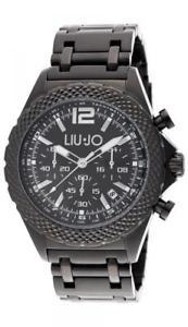 【送料無料】*mistery gift* orologio uomo liu jo luxury derby tlj835 chrono bracciale acciaio