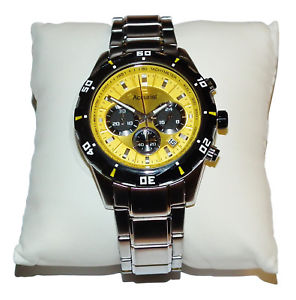 neues angebotaccurist gents yellow chronograph watch  mb970 was 19750