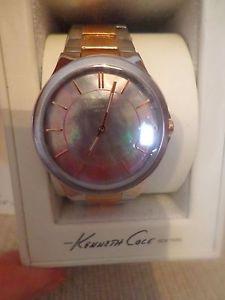 【送料無料】kenneth cole york watch, womens stainless steel amp; rose gold kc4829