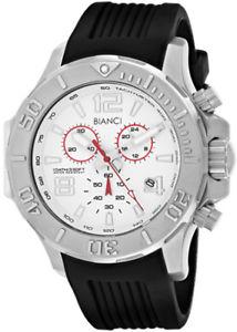 【送料無料】roberto bianci mens aulia chrono 100m stainless steelsilicone watch rb55051