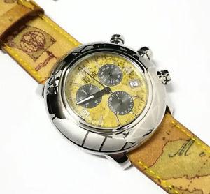 【送料無料】alviero martini 1 classe orologio uomo cronografo in pelle geo pch781bcu
