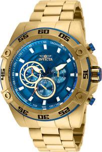 【送料無料】invicta mens speedway quartz chronograph 100m stainless steel watch 25336