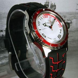 vostok amphibian, amphibia custom russian auto dive watch, , boxed, uk seller
