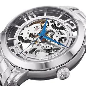 stuhrling winchester 44 elite mens 44mm automatic self wind watch 165b2b33112