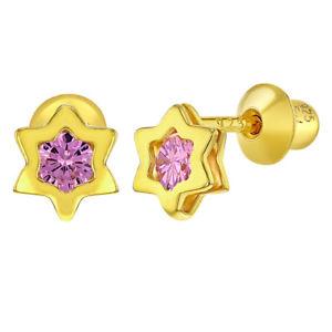 【送料無料】ピアス スターリングシルバーイエローゴールドピンクピアス 925 sterlingsilber gelbgold geflammt pink ohrringe fr mdchen