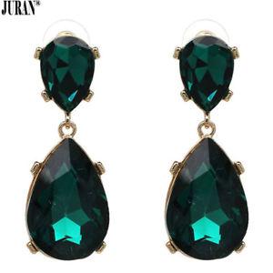 【送料無料】ピアス デピアス クラシカルas de67404 farben kristall ohrringe klassisch trendy juran zink legierung wasse
