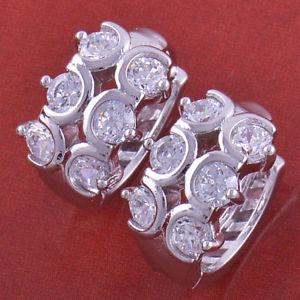 【送料無料】ピアス ピアス ホワイトラミネートringe ohrringe engarzadas steinen mit gold wei laminat 18 kt