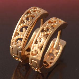 【送料無料】ピアス ktピンクラミネートピアス ohrringe arertes mit gold rosa laminat 18 kt