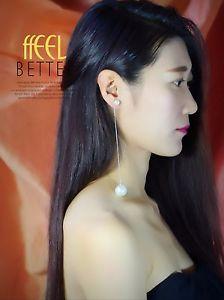 【送料無料】ピアス ピアス シルバーロングファインパールホワイトレトロファッションクラスohrringe silber lang fein perle wei mode class retro ee9