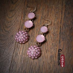 【送料無料】ピアス ラウンドパールピンクミニレトロピアス runde ohrringe rosa mini perle retro original abend ehe ee 4