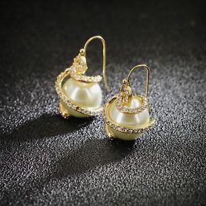 【送料無料】ピアス パールアールデコレースビンテージクラスピアス ohrringe golden art deco perle fein lace vintage class ehe aa 13