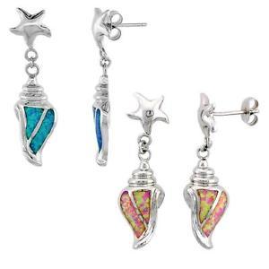 【送料無料】ピアス イルカピアス スターリングシルバーオパールsterlingsilber opal tritons lange ohrringe