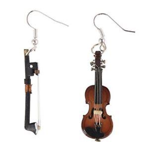 【送料無料】ピアス ヴァイオリンヴァイオリンボックスバイオリンオーケストラピアス ピアス geigenohrringe ohrringe geige mit bogen violine miniblings orchester mit box