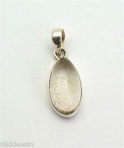 【送料無料】ネックレス スターリングリゾーツスターリングシルバーゴールドクォーツルチルジュエリーペンダントargent sterling en or rutile quartz bijoux pendentif numero3198