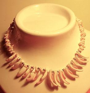 【送料無料】ネックレス シェル2572 collier ras de cou en coquillages