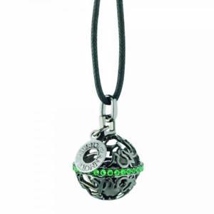 【送料無料】ネックレス ロベルトアルジェントネロヴェルデroberto giannotti collana chiama angeli sfa70 argento 925 nero verde