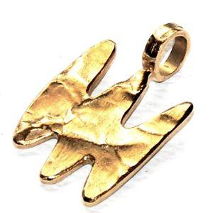 【送料無料】ネックレス モダニストペンダントゴールドカラーbiche de bere pendentif moderniste couleur or bijou original pendant