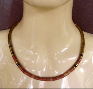 【送料無料】ネックレス クランプビーズ738 collier perles laiton et marbre