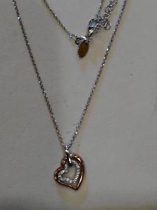 【送料無料】ネックレス ビブロスコンクオーレローズアルジェントヌオーヴォbyblos collana con ciondolo cuore rose, in argento 925 , nuovo 6198