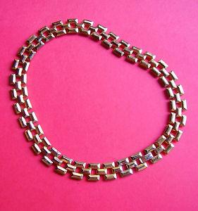【送料無料】ネックレス ネックラスメタルドール127 collier ras de cou en metal dore articule
