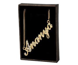 【送料無料】ネックレス クリップクリスマスnom collier ananya 18k plaqu or beau cadeau de nol pour elle