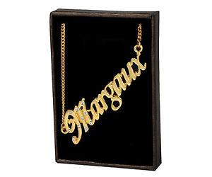 【送料無料】ネックレス クランプメジャーデザイナーnom colliers margaux 18k plaqu or fait sur mesure bijoux crateur cadeau