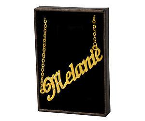 【送料無料】ネックレス クリップメラニークリスマスnom collier melanie 18k plaqu or beau cadeau de nol pour elle