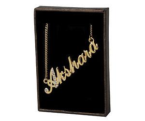 【送料無料】ネックレス クランプクリスマスnom collier akshara 18k plaqu or beau cadeau de nol pour elle