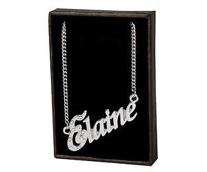 【送料無料】ネックレス ネックレスサンバレンティンnom colliers elaine 18k plaqu or saint valentin demoiselles dhonneur ami