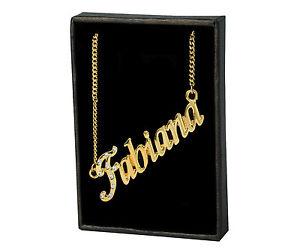 【送料無料】ネックレス ネックレスカスタムモードクリスマスnom colliers fabiana 18k plaqu or cadeaux personnalis amiti nol mode