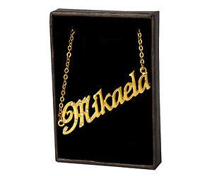 【送料無料】ネックレス クリップクリスマスnom collier mikaela 18k plaqu or beau cadeau de nol pour elle