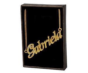 【送料無料】ネックレス ネックレスnom colliers gabriela 18k plaqu or cadeaux unique demoiselles dhonneur