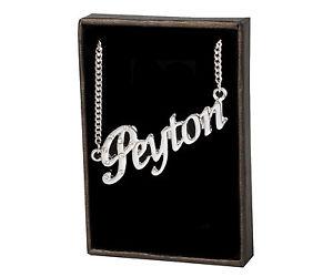 【送料無料】ネックレス ネックレスメジャーnom colliers peyton 18k plaqu or cadeau fait sur mesure bijoux amiti