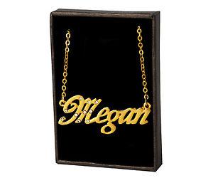 【送料無料】ネックレス クリップクリスマスnom collier megan 18k plaqu or beau cadeau de nol pour elle