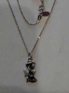 【送料無料】ネックレス ビブロスアンジェロアルジェントヌオーヴォbyblos collana con ciondolo angelo, in argento 925 , nuovo 6144