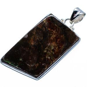 【送料無料】ネックレス ジュエリーペンダントammolite pendentif en argent sterling 925 51cm ana co bijoux p618349f
