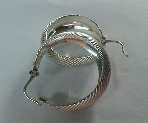 【送料無料】ネックレス シルバービンテージイヤリングアルジェントディorecchini silver vintage nos earrings argento 925 gr 7,8 fondo di magazzino 85