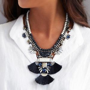 【送料無料】ネックレス クリップポンポンマーブルブラックパールホワイトレトロcollier court pendantif argent pompon noir marbre blanc perle retro jd6