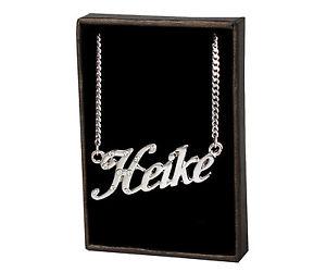 【送料無料】ネックレス クランプnom colliers heike 18k plaqu or fait sur mesure cadeaux lettre crateur