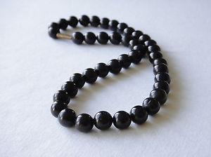 【送料無料】ネックレス オニキスネックレスオニキスネックレスネックレスonyx noir collier 10mm onyx noir perles collier longueurs varies noir collier