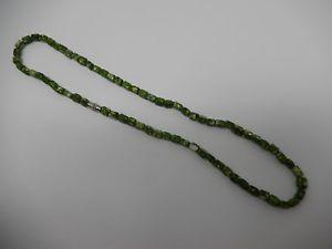 【送料無料】ネックレス クリップグリーンビンテージエナメルcollier ,vintage , de perles maill verte