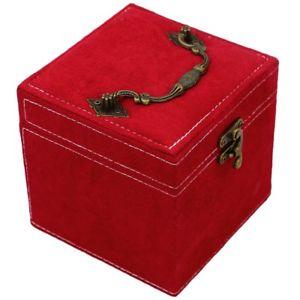 【送料無料】ネックレス ×マルチカラーボックストップボックスカレ5xmulti couleurs boite a bijoux cret a bijoux carre en finette de haut w3