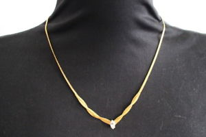 【送料無料】ネックレス エイボンジュエリーネックレスbijoux collier en metal dor par avon ref 220