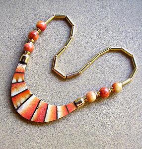 【送料無料】ネックレス ネックレスプレート1844 collier perles et plaques de racine de corail