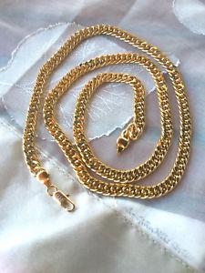 【送料無料】ネックレス イエローゴールドチェーンゴールドjolie chaine  en or jaune rempli     9kgold filled 60cm