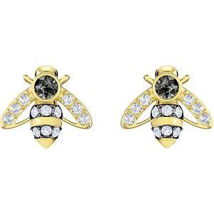 【送料無料】ネックレス スワロフスキースタッドイヤリングパワーステアリングorecchini swarovski stud magnetic bee donna 5429351 earrings ape api oro dorati